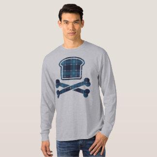 Glucides contre l'édition du motif du PJ bleu T-shirt