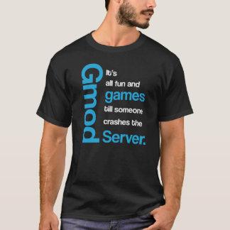 Gmod tous les amusement et T-shirt drôle de jeux
