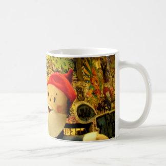 Gnome d'art de rue mugs à café