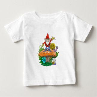 Gnome.jpg de ondulation t-shirt pour bébé