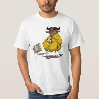 GNOU de Cannelure-playing T-shirt