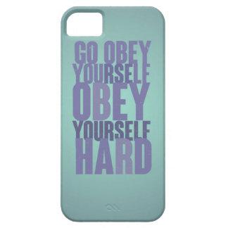 Go s'obéissent, s'obéissent dur étui iPhone 5