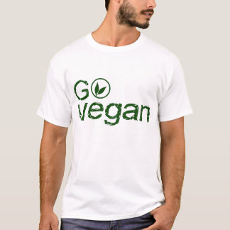 Go Vegan - le BASIC white T-shirt