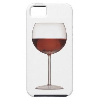 Gobelet d art de vin rouge - cas de l iPhone 5 Étui iPhone 5