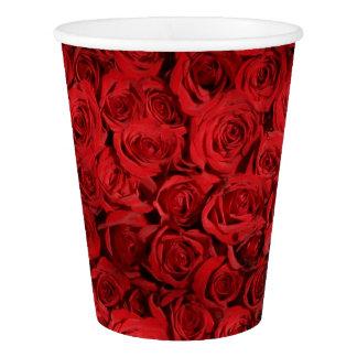 Gobelets En Papier belle photographie élégante élégante de roses