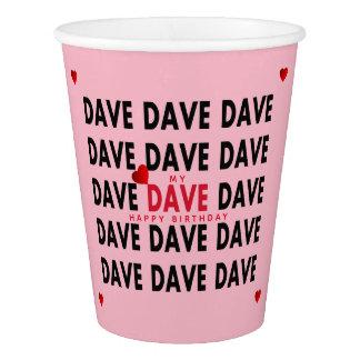 Gobelets En Papier Dave