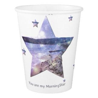 Gobelets En Papier Des étoiles de plage vous êtes mes tasses de