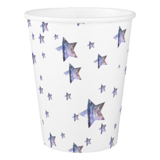 Gobelets En Papier Étoiles de plage hors des tasses de papier du ce