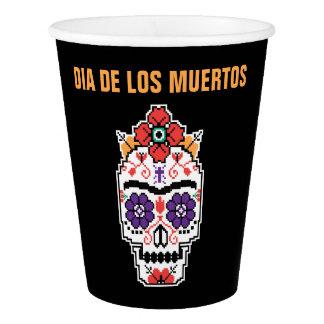 Gobelets En Papier Frida Kahlo | Dia De Los Muertos