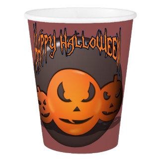 Gobelets En Papier Halloween heureux
