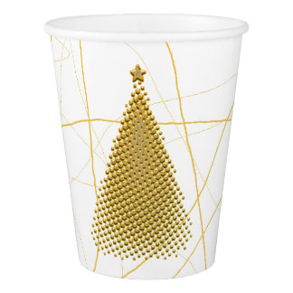 Gobelets En Papier HAMbyWG - tasse de papier - arbre de Noël