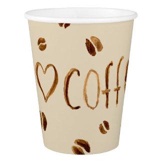 Gobelets En Papier J'aime le café
