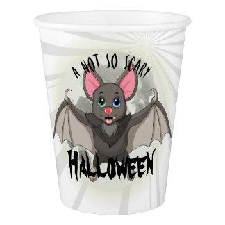 Gobelets En Papier Maladroit, la petits batte et A Halloween pas