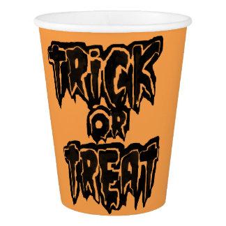 Gobelets En Papier partie de Halloween de trickXtreat
