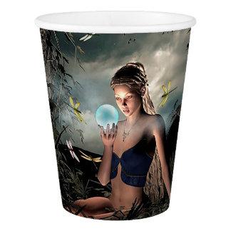 Gobelets En Papier Tasse de papier de jolie de conte de fées boule de