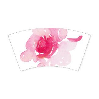 Gobelets En Papier Tasse de papier de premier rose