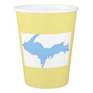 Gobelets En Papier Tasse de papier du Michigan de péninsule