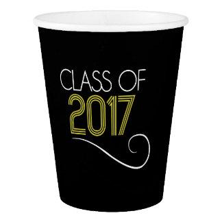 Gobelets En Papier Tasses de fête de remise des diplômes - 2017