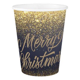 Gobelets En Papier Tasses de papier élégantes de Noël | de parties