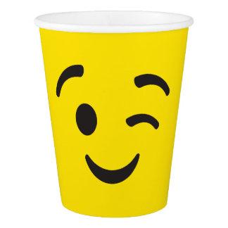 Gobelets En Papier Tasses d'Emoji