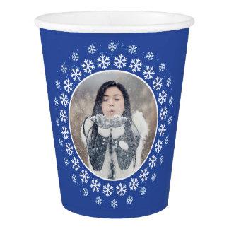Gobelets En Papier VOTRE PHOTO dans des tasses faites sur commande