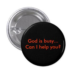 God is busy… boîte I help you ? Badges