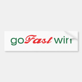 GoFastWin - original Autocollant De Voiture