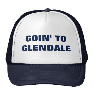 GOIN VERS GLENDALE CASQUETTES