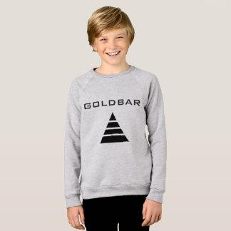 GOLDBAR - Sweatshirt américain de raglan de