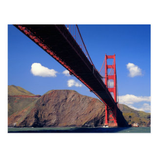 Golden gate bridge 10 carte postale