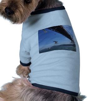Golden gate bridge 3 t-shirt ringer pour chien
