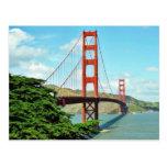 Golden gate bridge à San Francisco Carte Postale