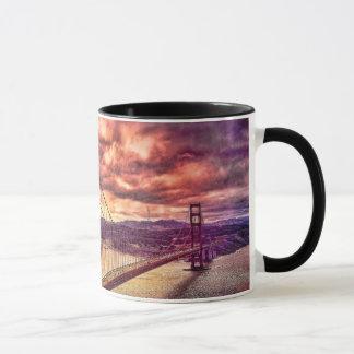 Golden gate bridge à San Francisco, la Californie Mug