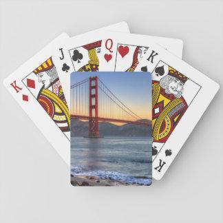 Golden gate bridge de traînée de San Francisco Bay Jeux De Cartes