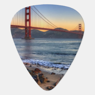 Golden gate bridge de traînée de San Francisco Bay Onglet De Guitare