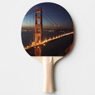 Golden gate bridge des promontoires de Marin Raquette De Ping Pong