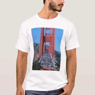 Golden gate bridge et Baie de San Franciso T-shirt