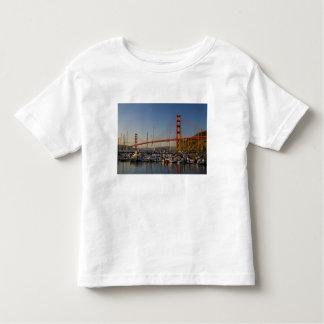 Golden gate bridge et San Francisco 2 T-shirt Pour Les Tous Petits