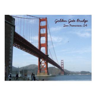 Golden gate bridge - journée carte postale