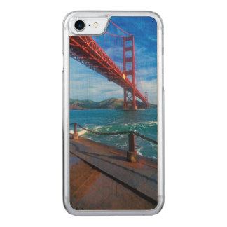 Golden gate bridge, la Californie Coque Carved Pour iPhone 7