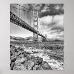 Golden gate bridge, la Californie Posters