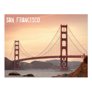 Golden gate bridge, San Francisco Carte Postale
