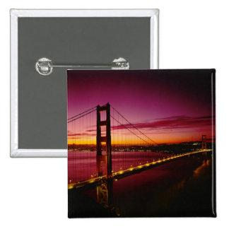 Golden gate bridge, San Francisco, la Californie,  Badges