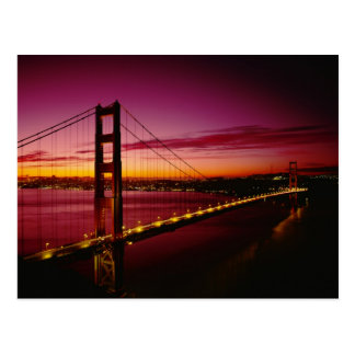 Golden gate bridge, San Francisco, la Californie, Carte Postale