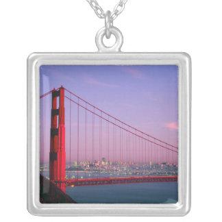 Golden gate bridge, San Francisco, la Californie, Pendentif Carré