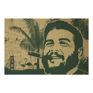 Golden Gate Che Guevara Posters