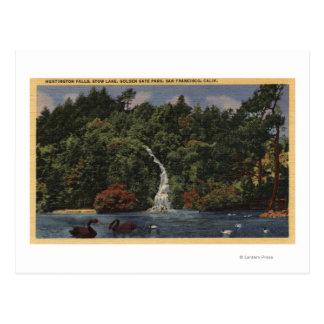 Golden Gate Park, automnes de lac stow, Huntington Carte Postale