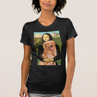 Golden retriever 2 - Mona Lisa T-shirt
