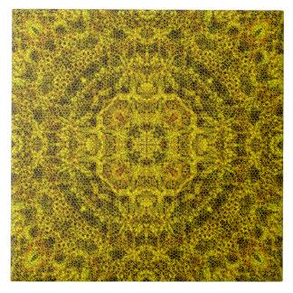 Goldweb en filigrane grand carreau carré