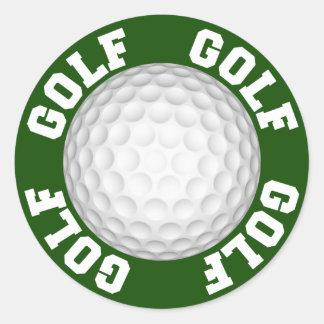Golf Autocollant Rond